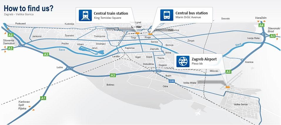 Aeroporto Zagabria : Aeroporto di zagabria arrivi partenze e come arrivare